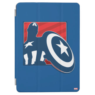 Captain America Silhouette Icon iPad Air Cover