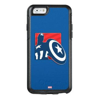 Captain America Silhouette Icon OtterBox iPhone 6/6s Case