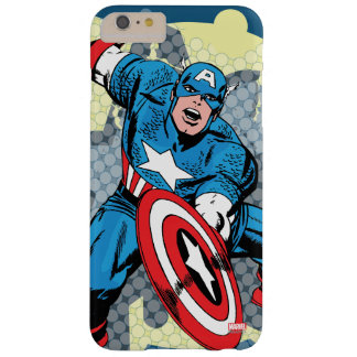 Captain America Star Barely There iPhone 6 Plus Case