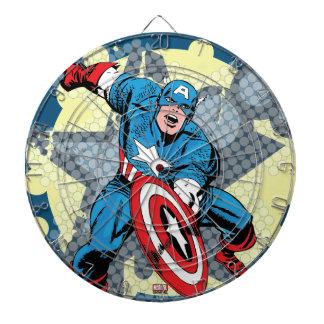 Captain America Star Dart Boards
