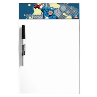 Captain America Star Dry Erase Board