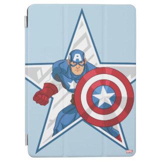 Captain America Star Graphic iPad Air Cover
