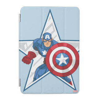 Captain America Star Graphic iPad Mini Cover