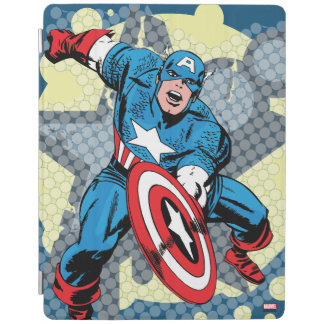 Captain America Star iPad Cover
