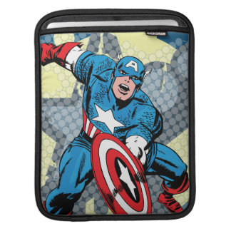 Captain America Star iPad Sleeve