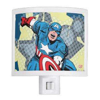 Captain America Star Nite Light