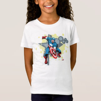 Captain America Star T-shirts