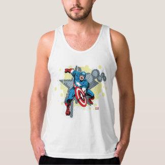 Captain America Star Tank Tops