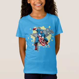 Captain America Star Tee Shirts