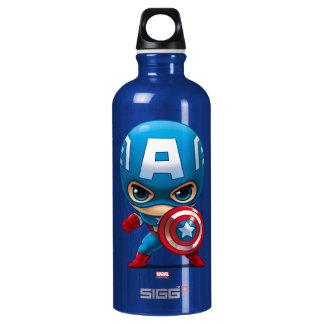 Captain America Stylized Art