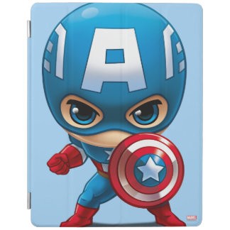 Captain America Stylized Art iPad Cover
