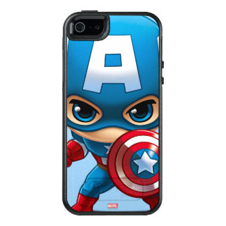 Captain America Stylized Art OtterBox iPhone 5/5s/SE Case