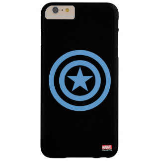 Captain America Super Soldier Logo Barely There iPhone 6 Plus Case