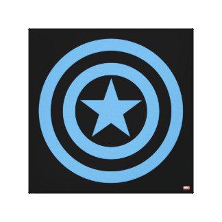 Captain America Super Soldier Logo Canvas Print