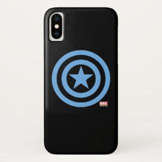 Captain America Super Soldier Logo iPhone X Case