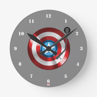 Captain America Vinyl Record Player Clocks