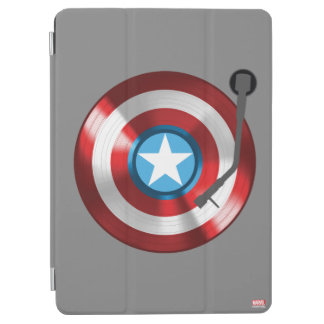 Captain America Vinyl Record Player iPad Air Cover