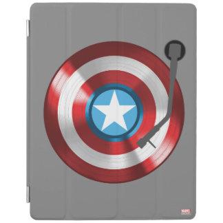 Captain America Vinyl Record Player iPad Cover
