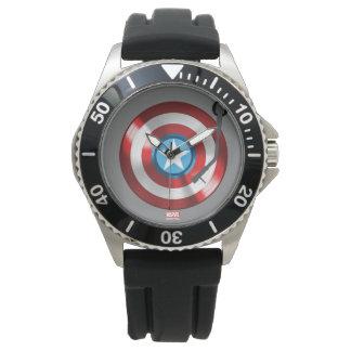 Captain America Vinyl Record Player Wristwatch