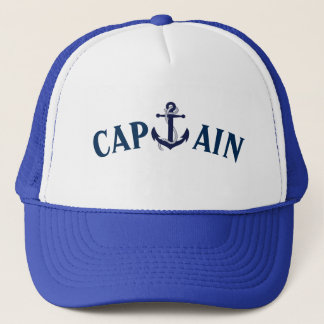CAPTAIN ANCHOR SAILING HAT