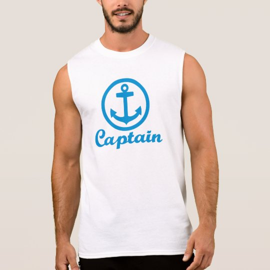 Captain anchor sleeveless shirt
