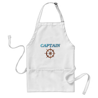 Captain and Captain s Wheel Aprons