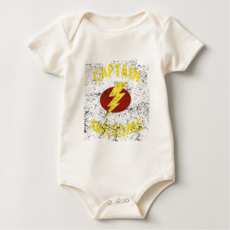 captain Awesome Baby Bodysuit