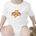 Captain Awesome Baby Bodysuits