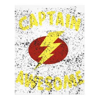captain Awesome Letterhead
