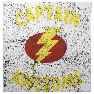 captain Awesome Napkin