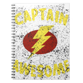 captain Awesome Notebook