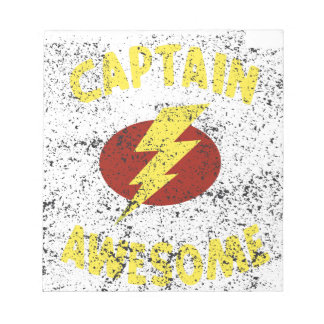 captain Awesome Notepads