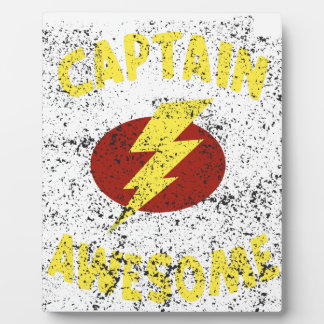 captain Awesome Plaque