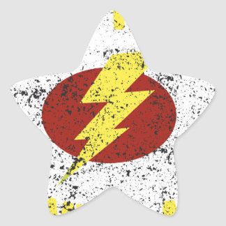 captain Awesome Star Sticker