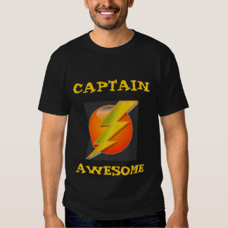 Captain Awesome Tee Shirts