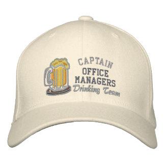 Captain Beer Drinking Team - Customizable Baseball Cap