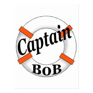 captain bob postcard