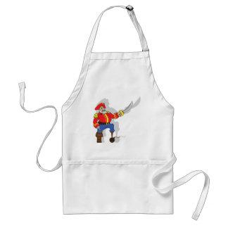 Captain brave cartoon standard apron