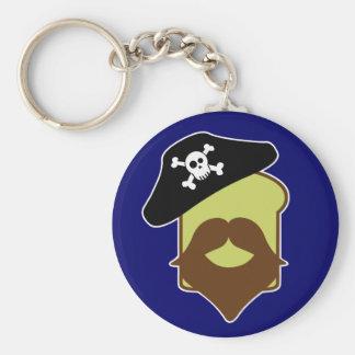 Captain Breadbeard Key Chain