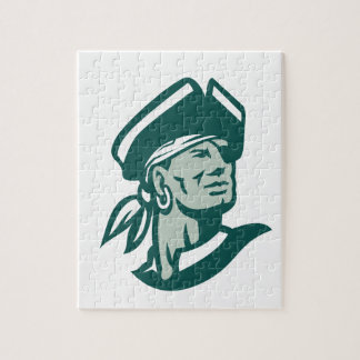 Captain Buccaneer Icon Jigsaw Puzzle