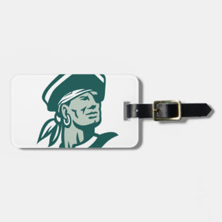 Captain Buccaneer Icon Luggage Tag