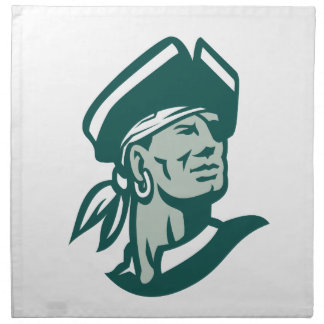 Captain Buccaneer Icon Napkin