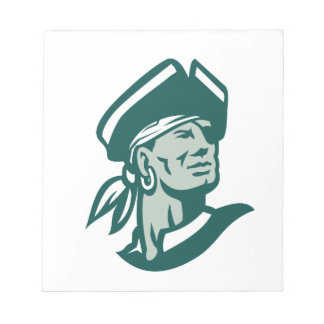 Captain Buccaneer Icon Notepad