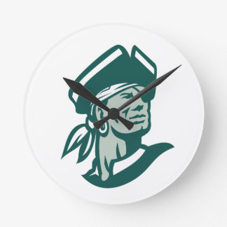 Captain Buccaneer Icon Round Clock