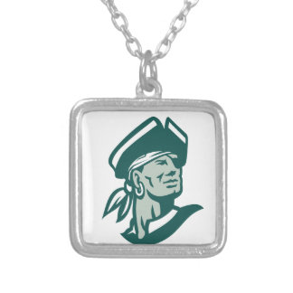 Captain Buccaneer Icon Silver Plated Necklace
