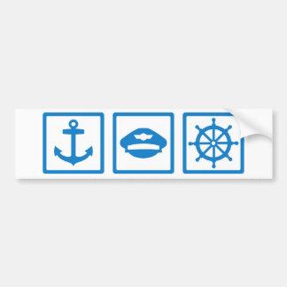 Captain Bumper Sticker