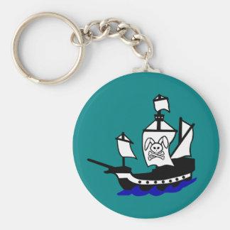 Captain Bunnybeard Keychains