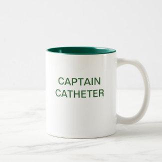 CAPTAIN CATHETER Two-Tone COFFEE MUG