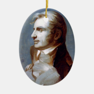 Captain Charles Stewart Ceramic Ornament