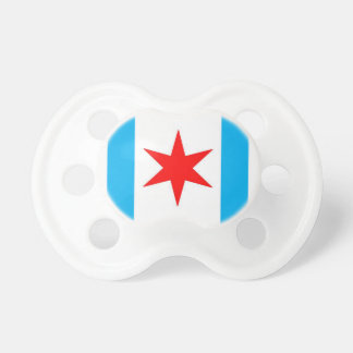 Captain Chicago Shield Pacifier